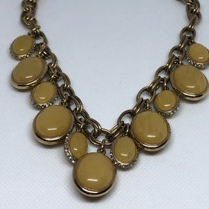Yellow/Gold Ann Taylor Necklace